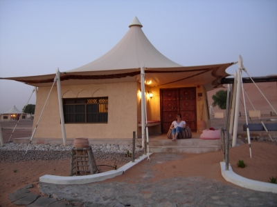 wüstencamp in oman
